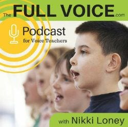 Full Voice Podcast for Voice Teachers logo
