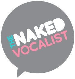 Naked Vocalist Podcast logo