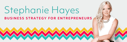 Stephanie Hayes business strategy for entrepreneurs logo
