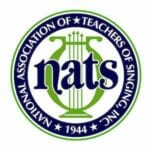 NATS National Association of Teachers of Signing, Inc. 1944 (logo)