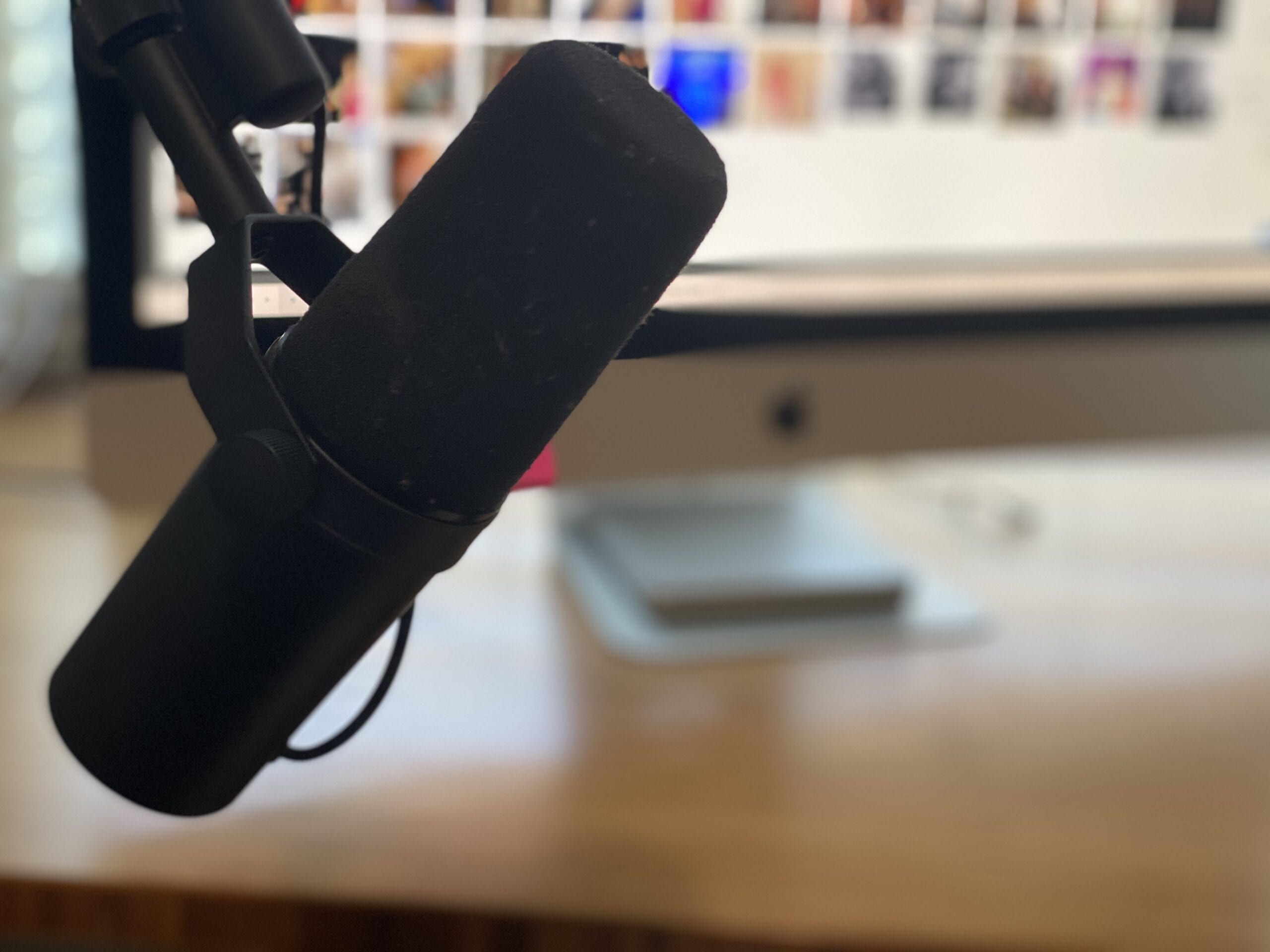 using a Shure sm7b Reviewing Your Business Delivery Model as You Transition to Online Only