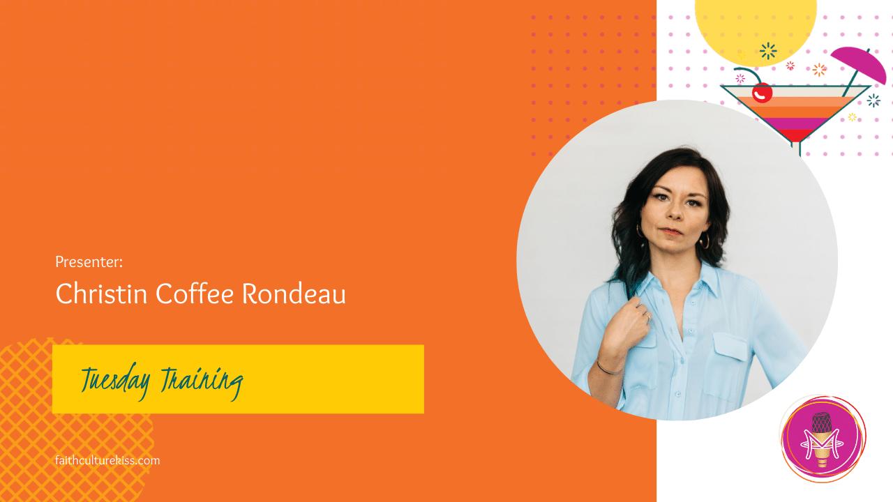 SECO Training - Presenter: Christin Coffee Rondeau